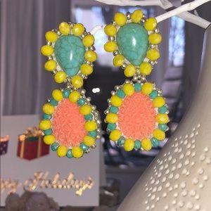 Jewelry - Beautiful Hand Made Clip On Earrings